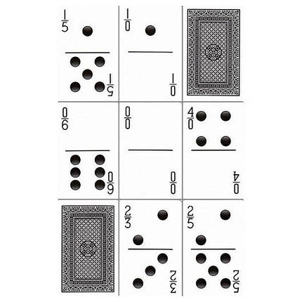 Покерные карты Bicycle Double Nine Domino, фото 2