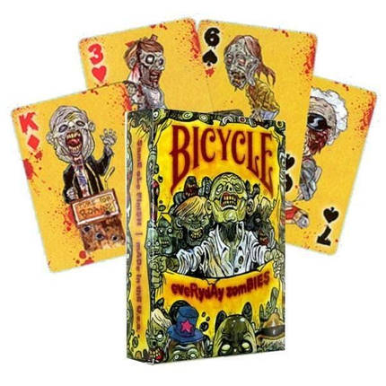 Покерные карты Bicycle Everyday Zombies, фото 2