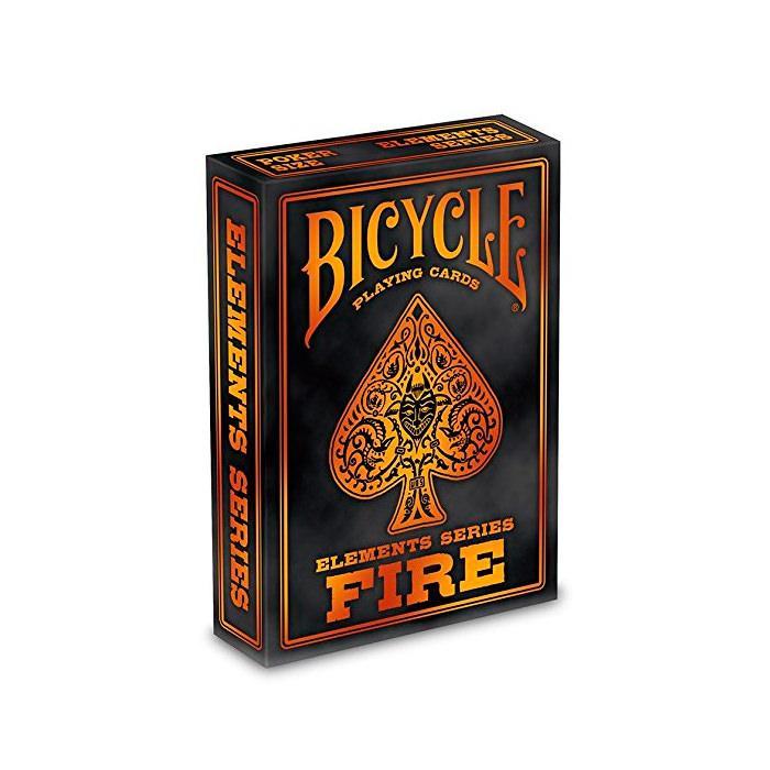 Покерные карты Bicycle Fire (Огонь)