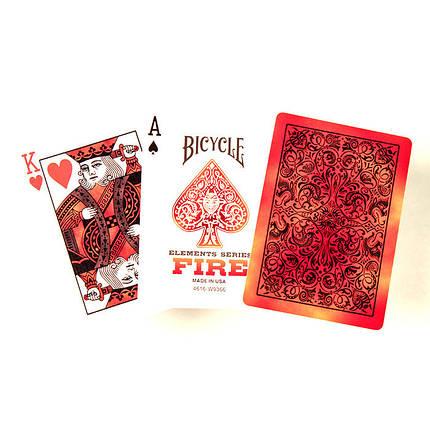 Покерные карты Bicycle Fire (Огонь), фото 2