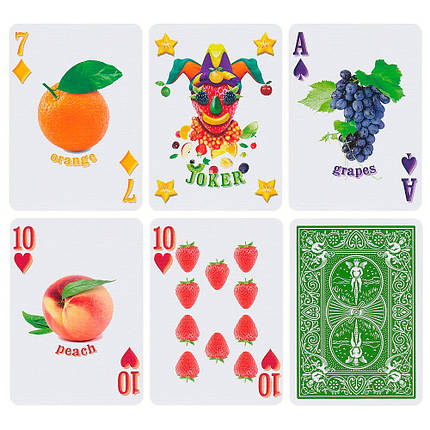 Покерные карты Bicycle Fruit Deck, фото 2