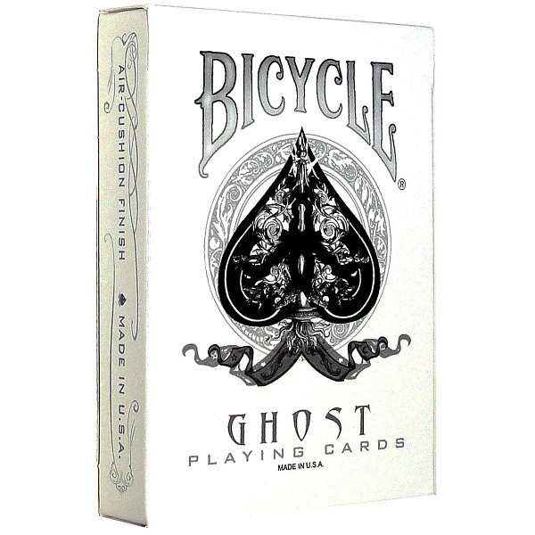 Покерные карты Bicycle Ghost White