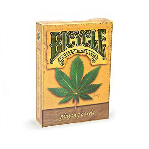 Покерные карты Bicycle Hemp (Конопля)