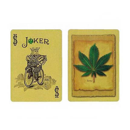 Покерные карты Bicycle Hemp (Конопля), фото 2
