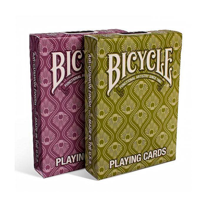 Покерные карты Bicycle Peacock (Павлин)