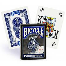 Покерные карты Bicycle Poker Peek Pro, фото 3