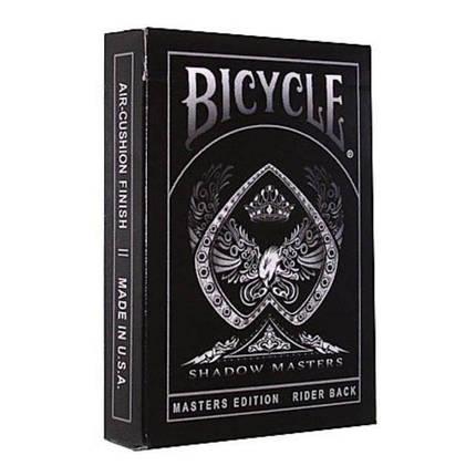 Покерные карты Bicycle Shadow Master, фото 2
