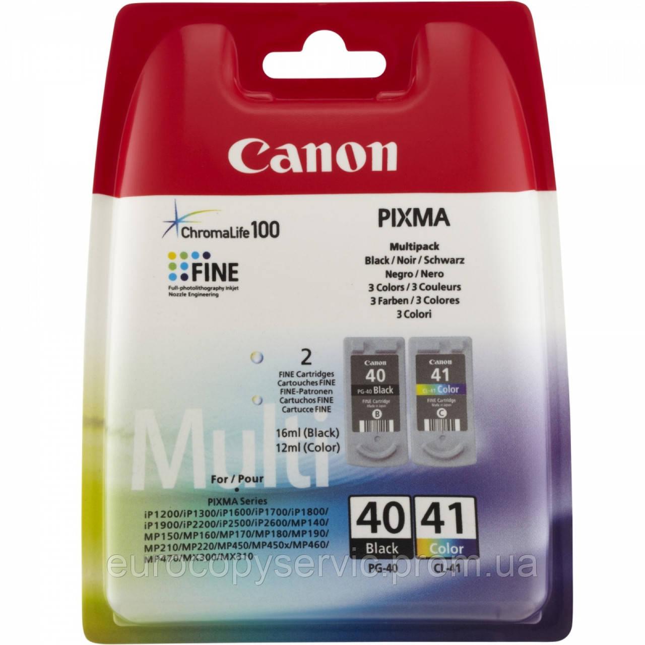 Набір картриджів Canon PG40 + CL41 PG40 + CL41 MultiPack (0615B043)