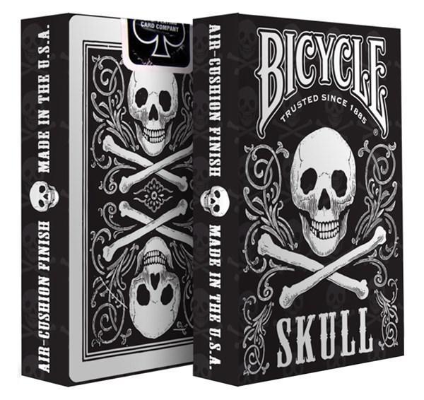 Покерные карты Bicycle Skull