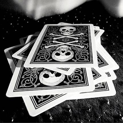Покерные карты Bicycle Skull, фото 2