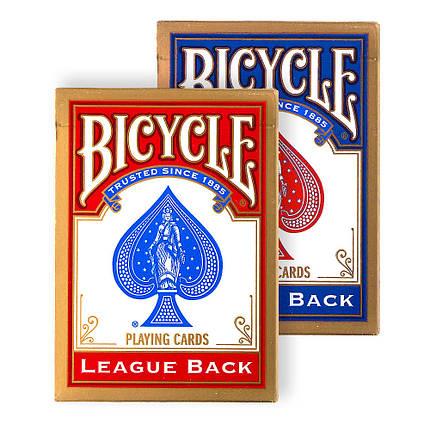 Покерные карты Bicycle Standard League Back, фото 2