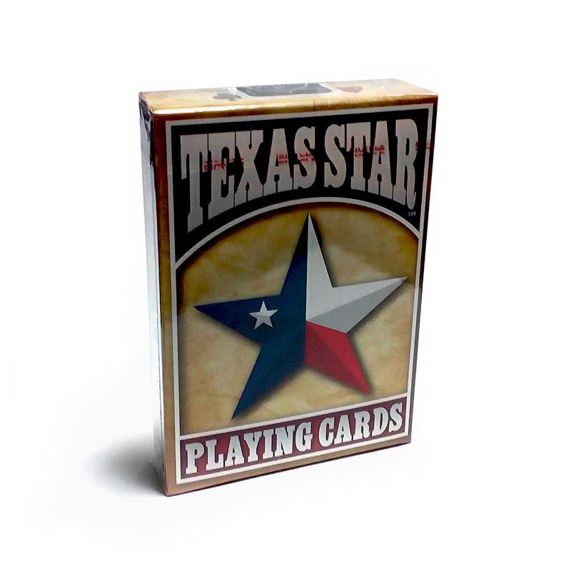 Покерные карты Bicycle Texas Star