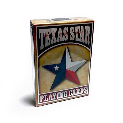 Покерные карты Bicycle Texas Star, фото 2