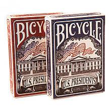 Покерные карты Bicycle US Presidents Deluxe