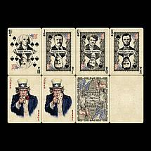 Покерные карты Bicycle US Presidents Deluxe, фото 2