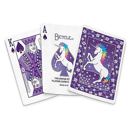 Покерные карты Bicycle Unicorn, фото 2