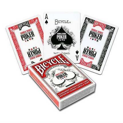 Покерные карты Bicycle WSOP, фото 2