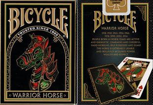 Покерные карты Bicycle Warrior Horse, фото 3