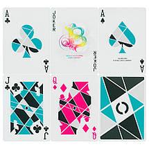 Покерные карты Cardistry Turquoise, фото 3