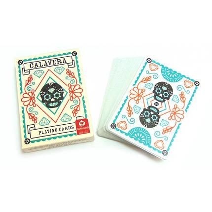 Покерные карты Cartamundi Calavera, фото 2