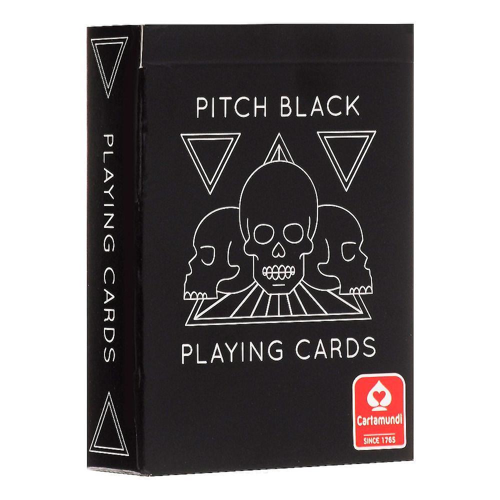 Покерные карты Cartamundi Pitch Black