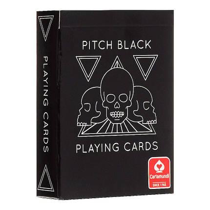 Покерные карты Cartamundi Pitch Black, фото 2