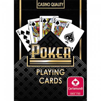 Покерные карты Cartamundi Poker, фото 2
