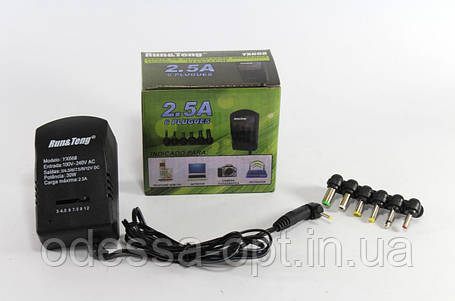 Универсальный адаптер 7в1, (3V-4.5V-6V-7.5V-9V-12V), 3А, YX668, фото 2