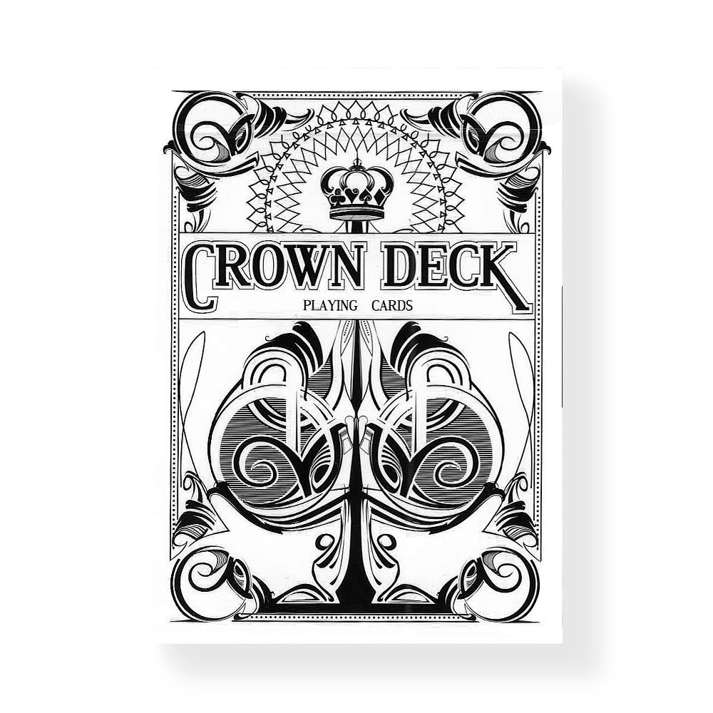 Покерные карты Crown Deck Limited Edition (Snow)