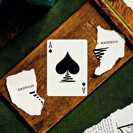 Покерные карты Ellusionist ExM Black Deck, фото 2