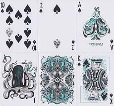 Покерные карты Fathom (Ellusionist), фото 3