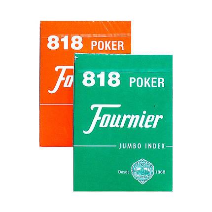 Покерные карты Fournier 818 Jumbo Index, фото 2