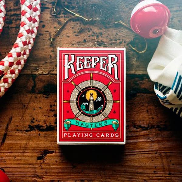 Покерные карты Keeper Masters (Ellusionist)