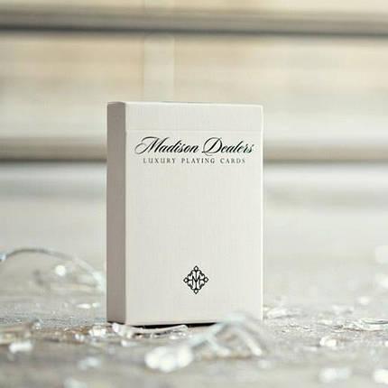 Покерные карты Madison Dealers Green, фото 2