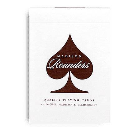 Покерные карты Madison Rounders Brown, фото 2
