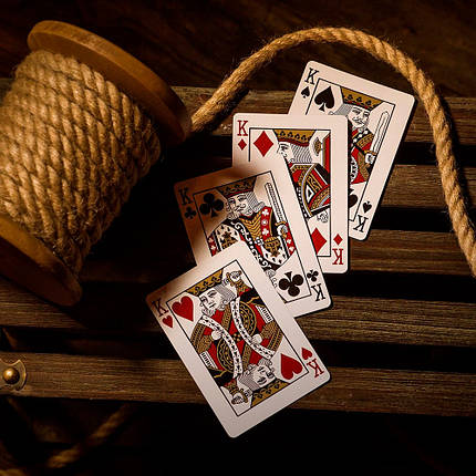 Покерные карты Monarch Red (Theory11), фото 2