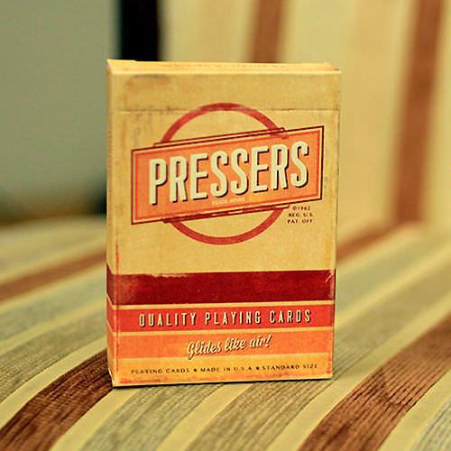 Покерные карты Pressers (Ellusionist)