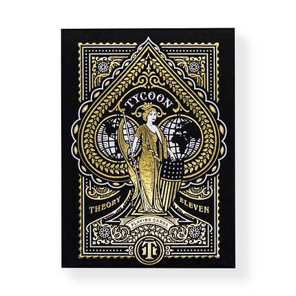 Покерные карты Tycoon Black, фото 2