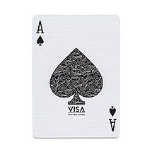 Покерные карты Visa Green Edition, фото 3