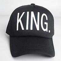 Кепка тракер King (Король) с сеточкой 2, Унисекс, фото 1