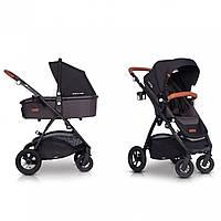 Детская универсальная коляска 2 в 1 EasyGo Optimo Air Antracite