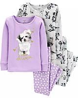 Детская трикотажная пижама Картерс для девочки (поштучно)