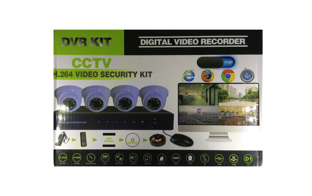 Рег.+ Камеры DVR KIT 3704 AHD 4ch набор на 4 камеры (3)