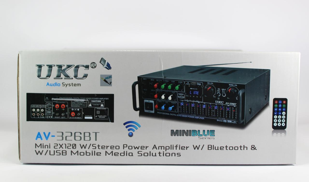 Усилитель AMP 326+BT (6)