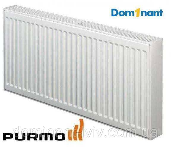 Сталевий радіатор Purmo Compact 22 600/1600 (2734 Вт), панельний радіатор бічне підключення