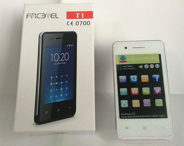Моб. Телефон T1 Facetel Andr. 3.5'' 1н (50)