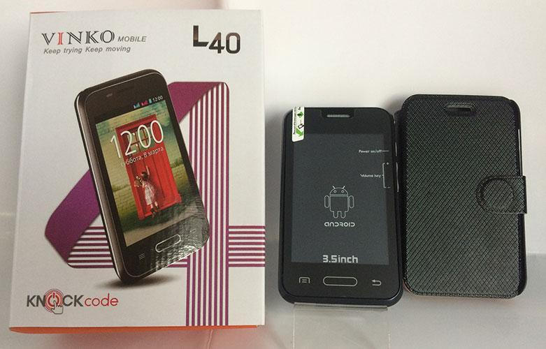 Моб. Телефон L40 Andr. 1н (50)