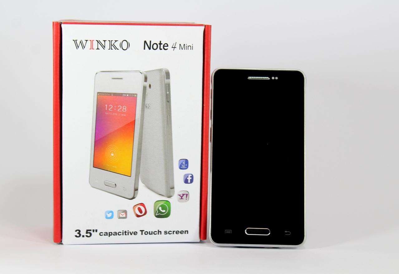 Моб. Телефон Note4 mini 3.5'' Black 1н (50)