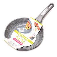 Сковорода с гранитным антипригарным покрытием d=22 см Kamille KM-4286GR