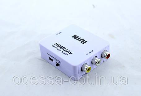 Конвертер HDMI to AV (RCA)   av 001, фото 2